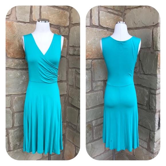 Modcloth Dresses & Skirts - Modcloth Gilli Sleeveless Draped Jersey Dress S